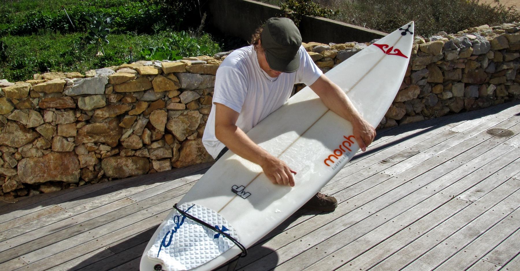 Surfbrett richtig wachsen