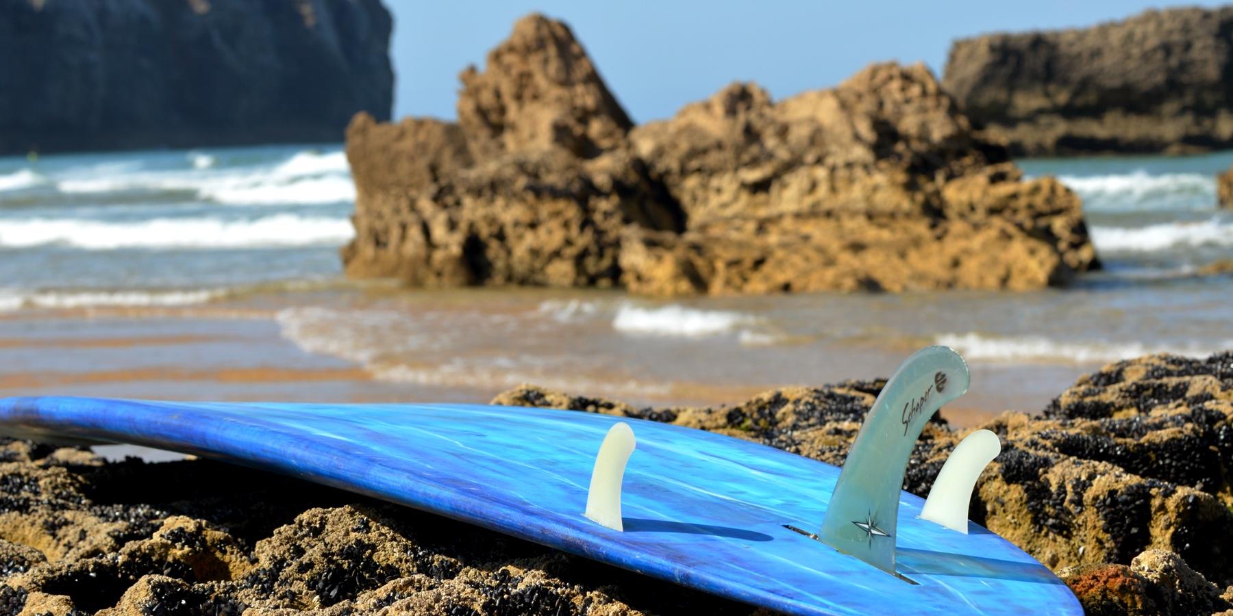 Finnenbox fürs Surfboard