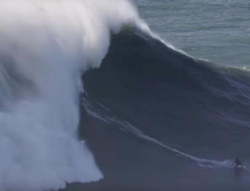 War das die größte Welle, die je von einer Frau gesurft wurde?