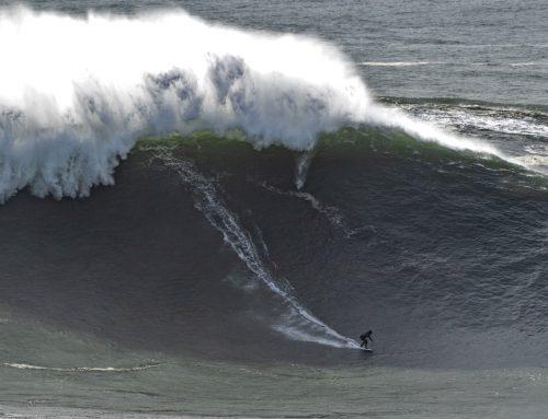 Nazaré Tow Surfing Challenge: Eine Weltpremiere beim Big Wave Surfen