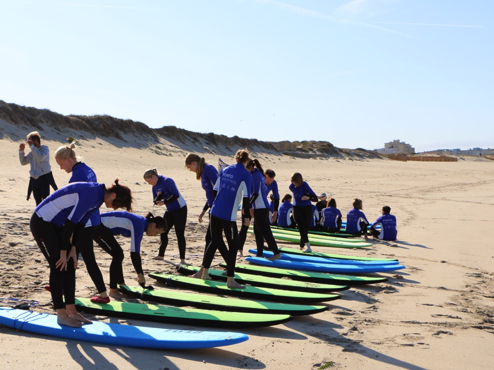 Porto Surfkurs