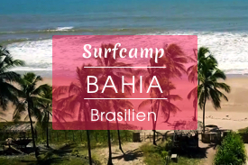 Surfcamp Bahia, Brasilien
