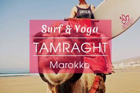Surfcamp Tamraght, Marokko